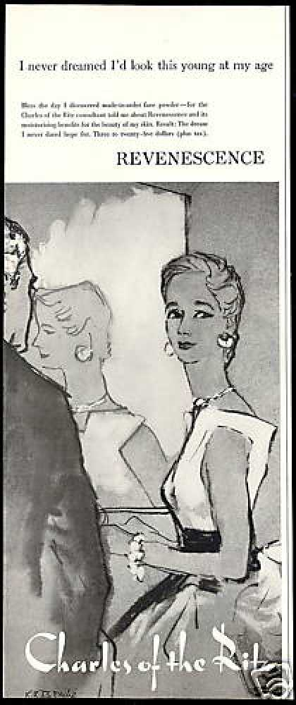 Charles of the Ritz Powder Makeup Bouche Art (1954)