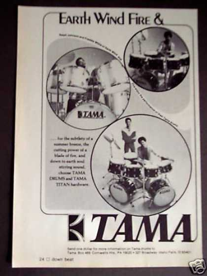 Earth Wind and Fire Drummers Tama Drums (1975)