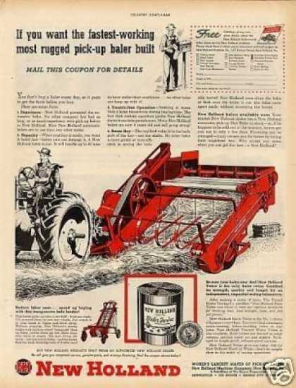 New Holland Baler (1949)