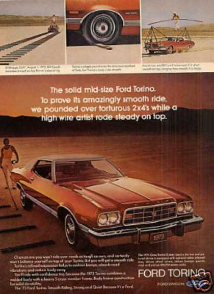 Ford Gran Torino 2-door Car (1973)