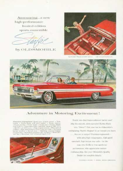 Oldsmobile Olds Starfire Coupe Convertible (1961)