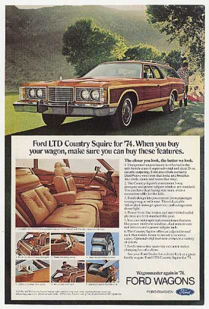 Ford LTD Country Squire Station Wagon (1974)