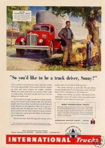 International Truck Ad Kb Model (1947)