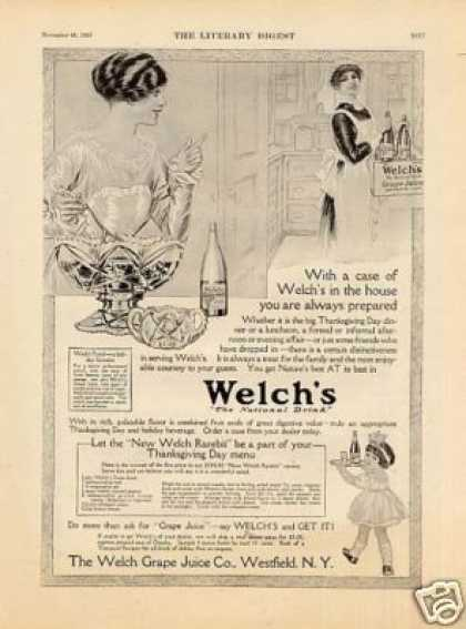 Welch's Grape Juice (1913)