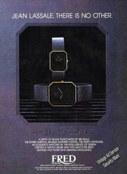 Jean Lassale Watches Collectible (1983)