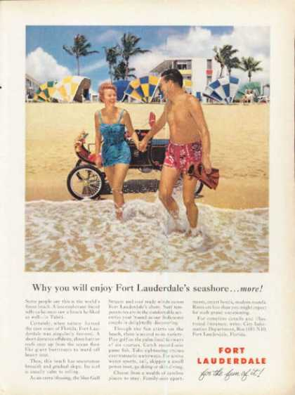 Fort Lauderdale Florida Vacation Beach (1961)