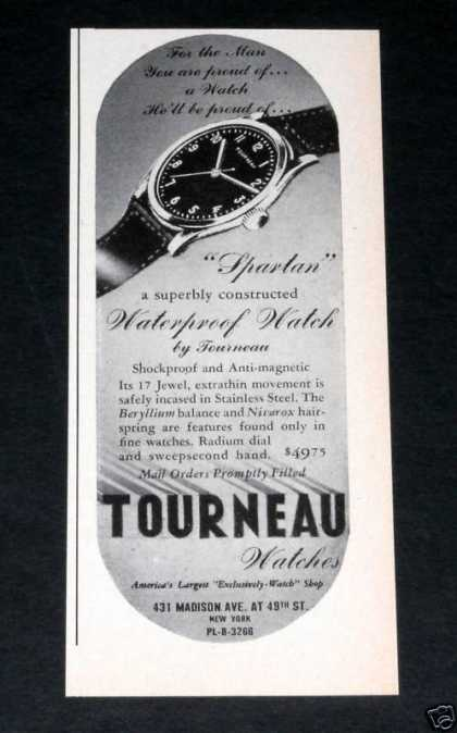 "Old , Tourneau ""Spartan"" Watches (1943)"
