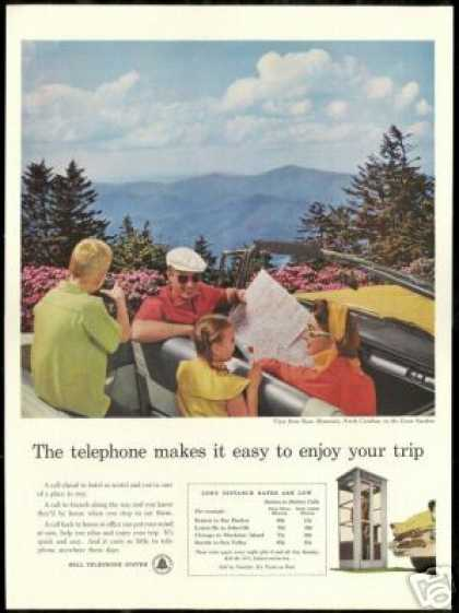 Roan Mountain North Carolina Bell Telephone (1957)