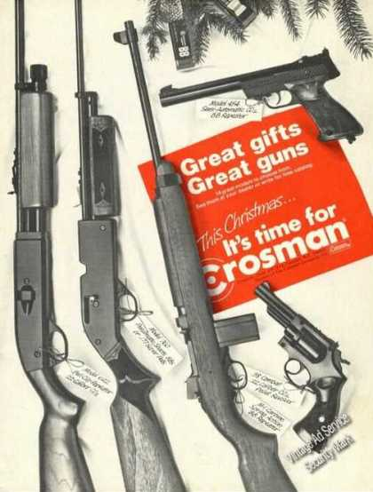 Crosman Bb & Pellet Gun Photos (1973)