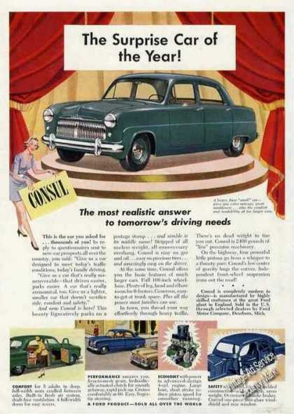 "Ford Consul ""Surprise Car of the Year"" (1951)"