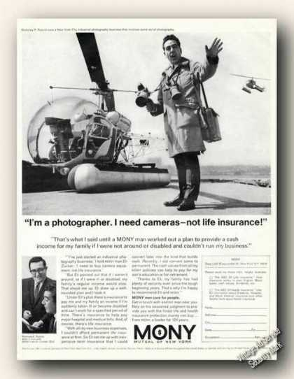 I Need Cameras – Not Life Insurance! Mony (1967)