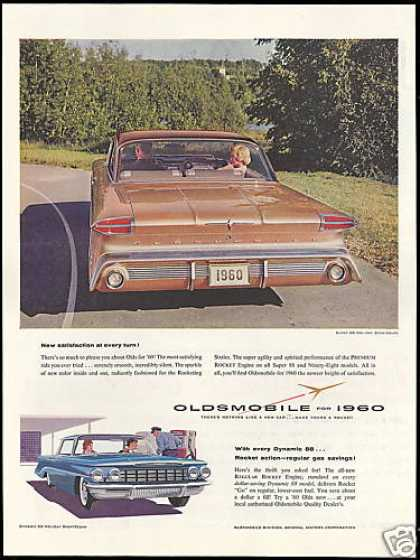 Oldsmobile Super 88 Holiday Photo Vintage (1960)