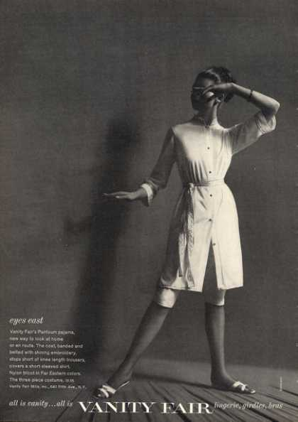 Vanity Fair Pantoum Fashion Pajama (1962)