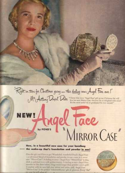 Pond's Angel Face Mirror Case (1950)