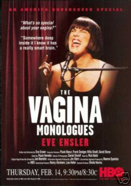 The Vagina Monologues Eve Ensler HBO Promo TV (2002)