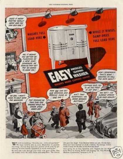 Easy Washer (1945)