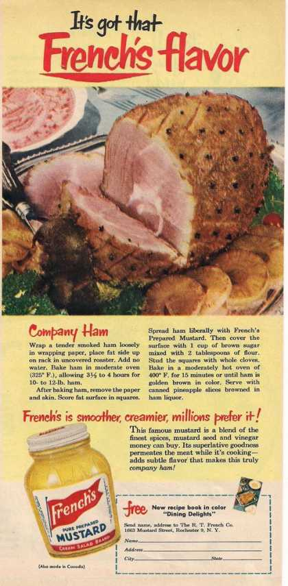Frenchs Pure Prepared Mustard (1951)