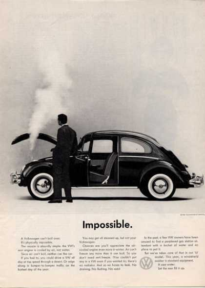 "Volkswagen Vw Bug ""Impossible"" (1961)"