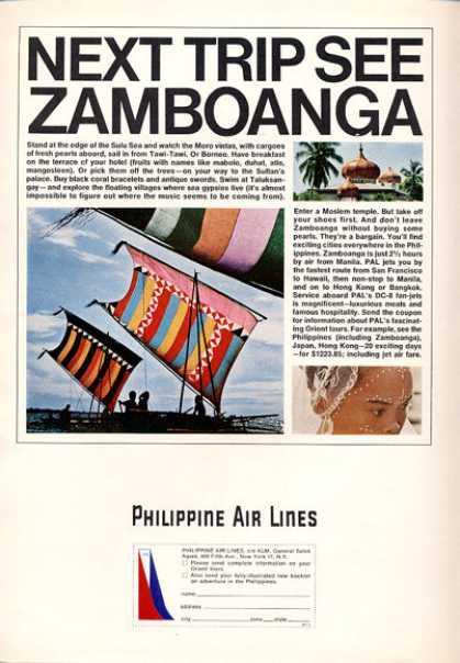 Philippine Air Lines Zamboanga Sail (1964)