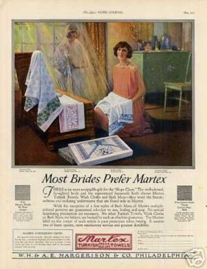 Martex Towels Color (1925)
