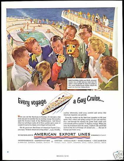 Puppet Kukla Ollie American Export Lines (1952)