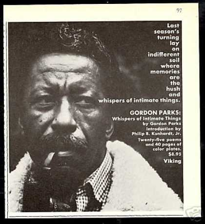 Gordon Parks Whispers of Intimate Things Book (1971)
