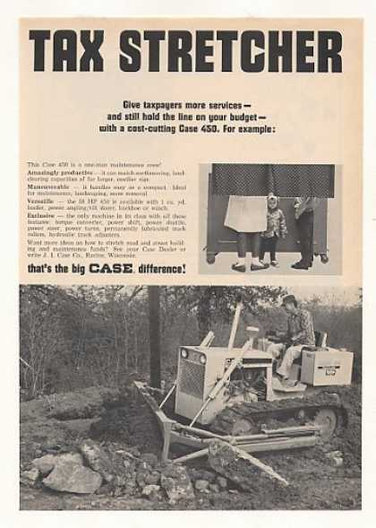 Case 450 Crawler Tractor Photo (1967)