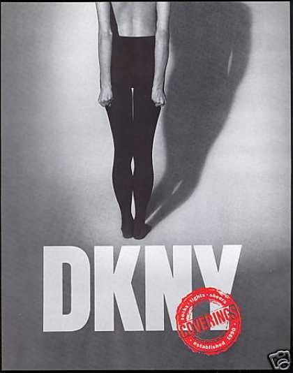 DKNY Tights Coverings Photo (1990)