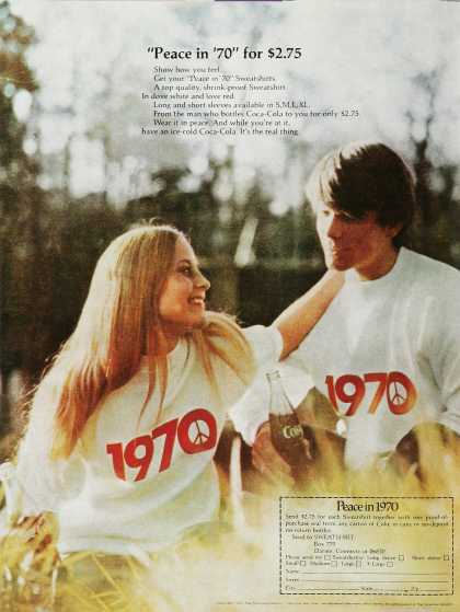 Peace in 1970 T-Shirt