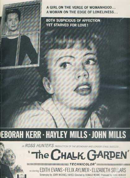 The Chalk Garden (Deborah Kerr, Hayley Mills and John Mills) (1964)