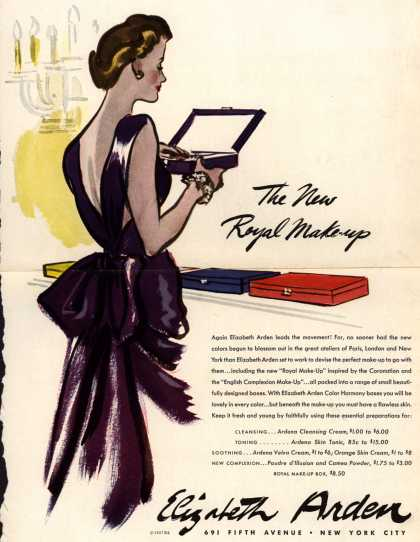 Elizabeth Arden's Royal Make-up – The New Royal Make-up (1937)