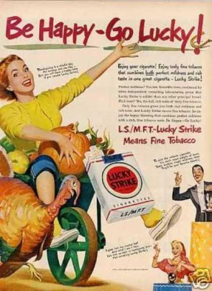 Lucky Strike Cigarettes (1950)