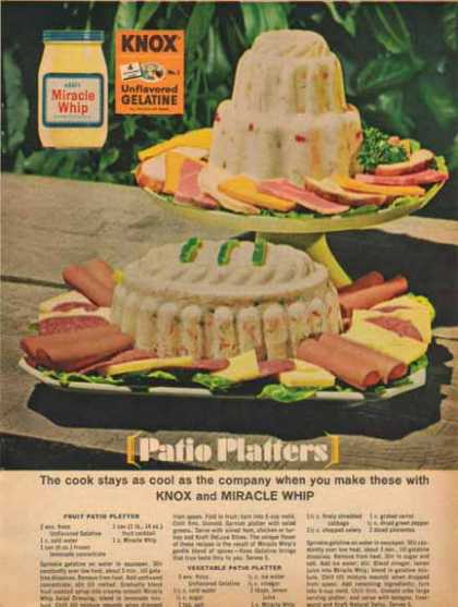 Kraft Miracle Whip Salad Dressing – Recipes (1965)