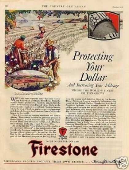 Firestone Tire Color (1928)