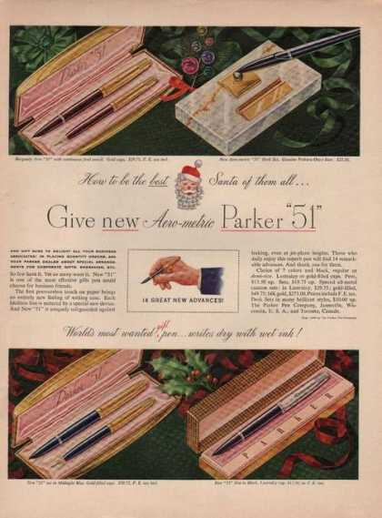 Parker 51 Pen and Pencil (1949)
