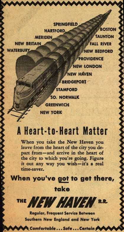 New Haven Railroad – A Heart-to-Heart Matter (1947)