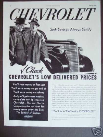 Chevrolet Chevy Original Car (1938)