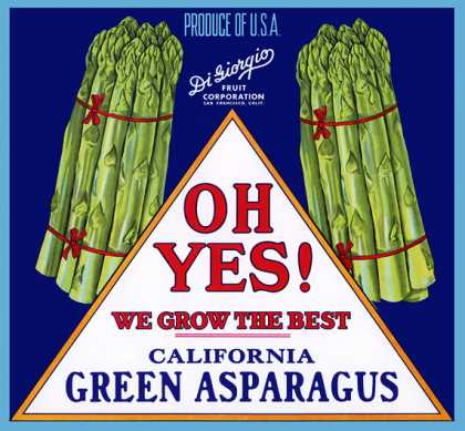Oh Yes! Asparagus, c. s (1940)