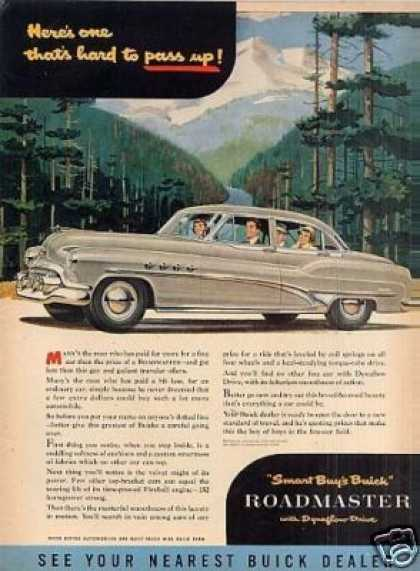 "Buick Car Ad ""Here's One Thats Hard To... (1951)"