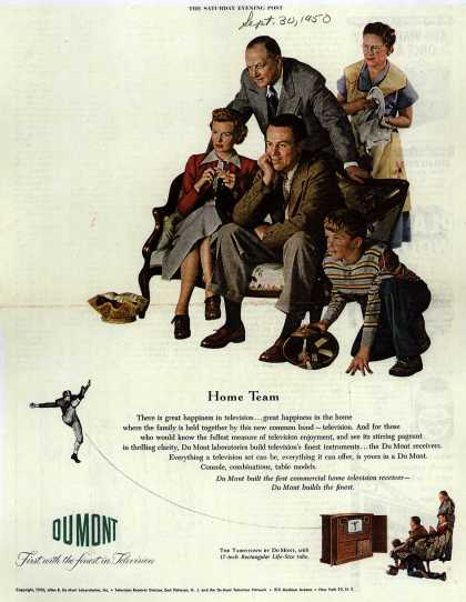 Allen B. DuMont Laboratorie's The DuMont Tarrytown – Home Team (1950)