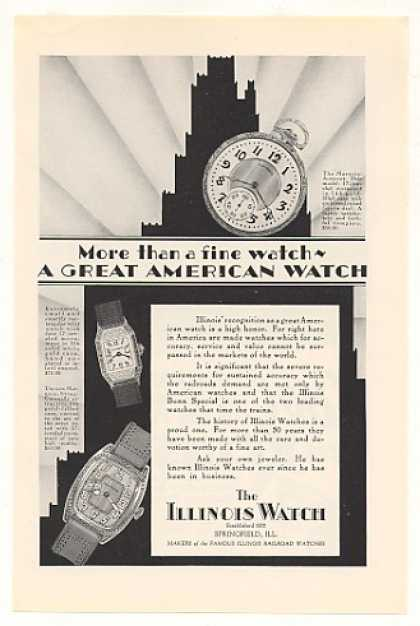 Illinois Watch Marquis-Autocra (1928)