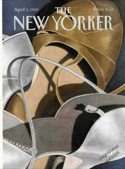 Simpson Art New Yorker Cover Womens Shoes (1986)