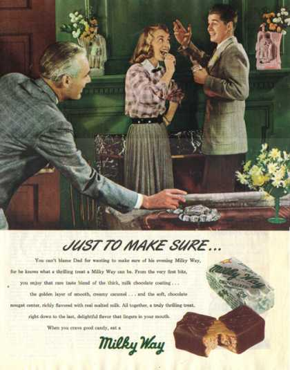 Milky Way Candy Bar (1948)