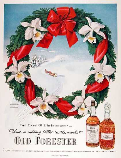 Old Forester Whiskey (1951)