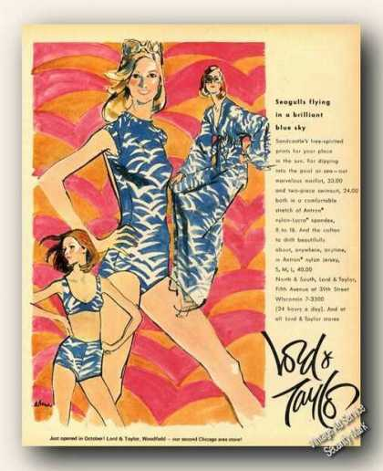 Sandcastle Swimwear Art Fashion (1973)