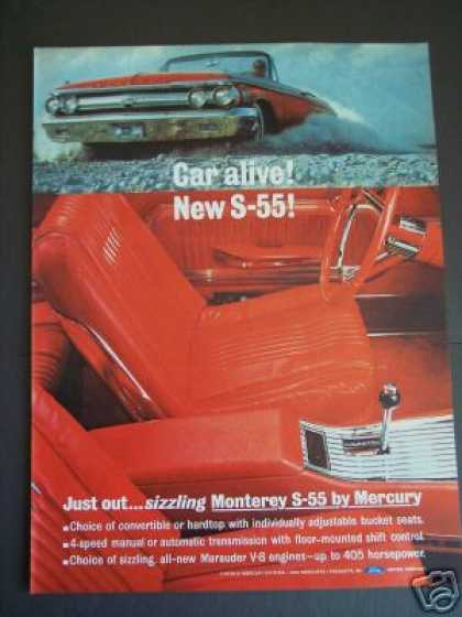 Mercury Monterey S-55 Floor Shift Convertible (1962)