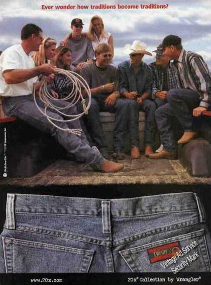 20x Collection By Wrangler Jeans (1999)