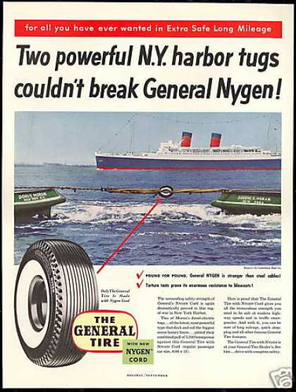New York Harbor Tugboat General Tire Tugs (1954)