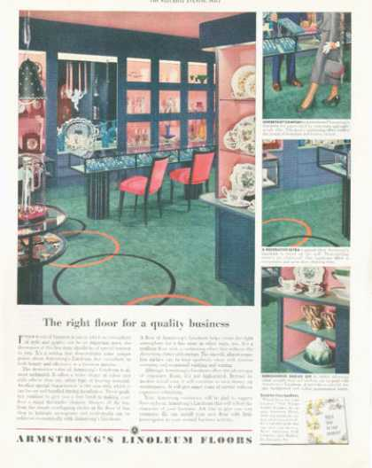 Armstrong Linoleum Floors (1952)