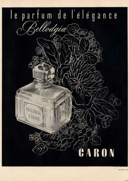 Caron Bellodgia Perfume Bottle (1950)